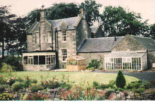 Former Manse of the Free Church of Scotland at Craigton of Monikie